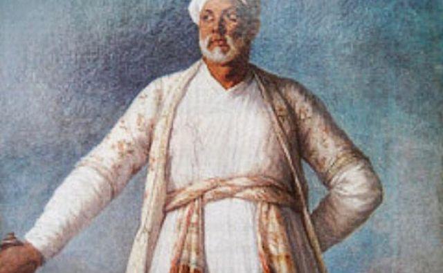 Portret Muhamada Derviša Kana iz leta 1788 je na dražbi avkcijske hiše Sotheby's v New Yorku z izkupičkom 7,2 milijona ameriških dolarjev (okoli 6,3 milijona evrov) postavil nov svetovni rekord na področju avkcijske prodaje del umetnic iz časa pred letom 1900. FOTO: Wikipedia
