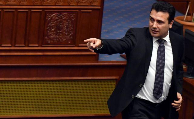 Makedonski premier Zoran Zaev je dobil avstrijsko odlikovanje zaradi zgodovinskega uspeha pri reševanju skoraj tridesetletnega spora z Grčijo. Foto: Reuters