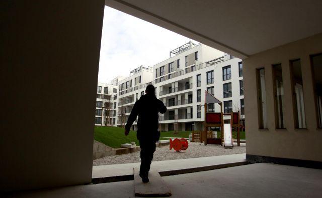V Ljubljani je bilo lani rekordno malo stanovanj. Letos jih bo več, tudi zaradi soseske Belle vie Tivoli. FOTO: Roman Šipić/Delo