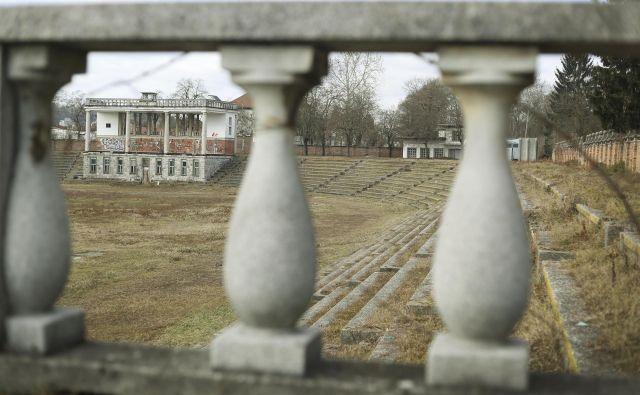 V zadnjih tednih se spet veliko govori in piše o nameravani obnovi Plečnikovega stadiona v okviru projekta Bežigrajski športni park (BŠP). FOTO Leon Vidic/delo