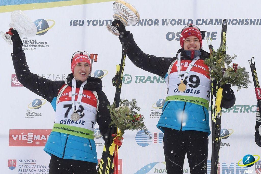 Zgodovinsko: Cisar mladinski svetovni prvak v biatlonu, Planko podprvak