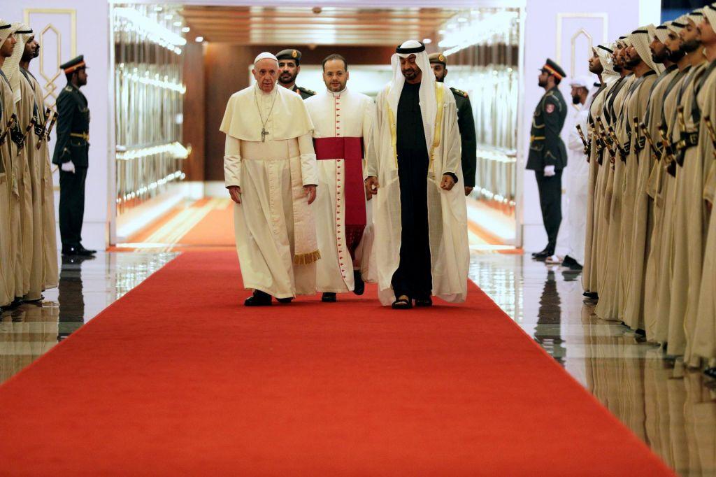 Prvi papež na Arabskem polotoku