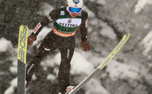 Kamil Stoch je zmagal prvič po lanski Planici. FOTO: AFP