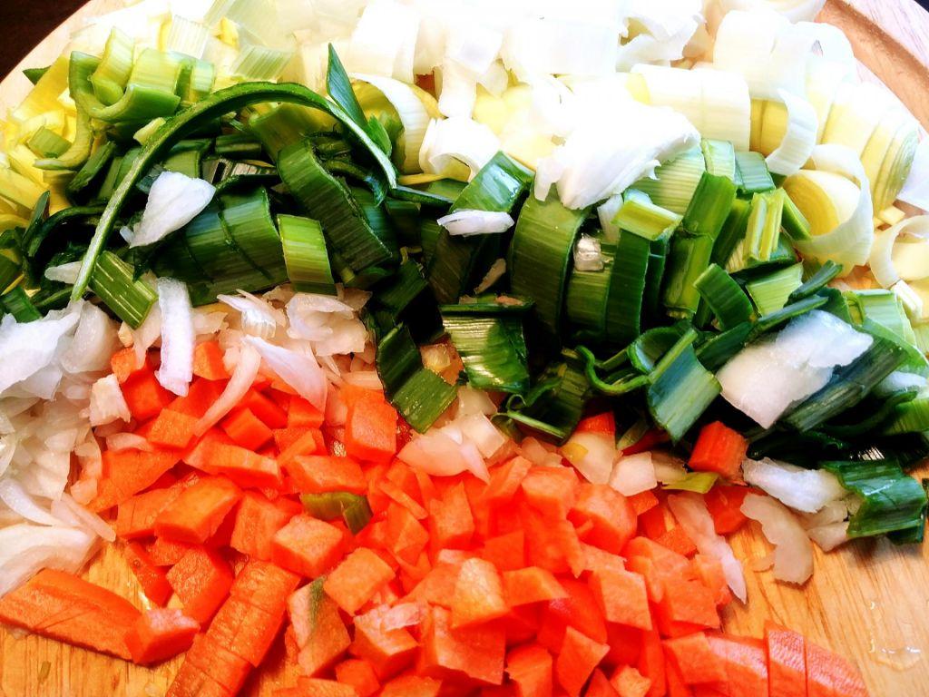 Poletov recept: lahka zelenjavna rižota