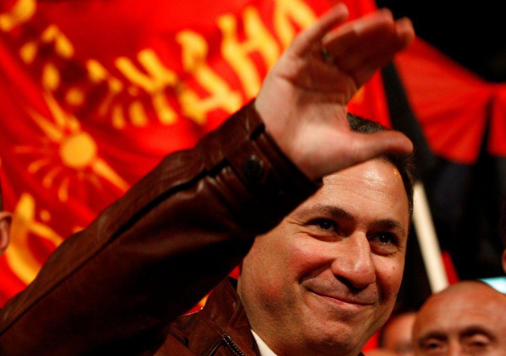 Gruevski se lahko vrne samo v zapor