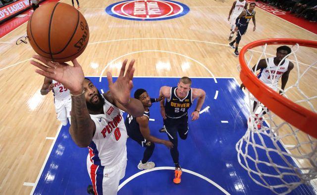 Andre Drummond je bil najučinkovitejši doslej v sezoni. FOTO: Gregory Shamus/AFP