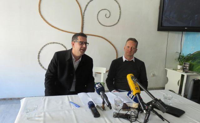 Za omizjem se je pridružil župan Aleš Bržan.<strong> </strong>FOTO: Nataša Čepar