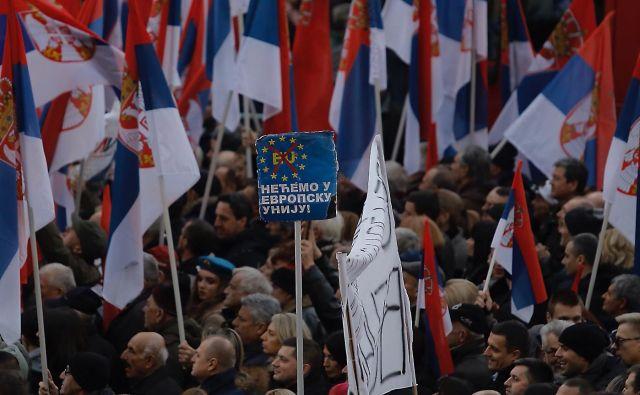 Gre za nov pomemben razkorak znotraj Evrope, ki lahko zamaje njeno stabilnost? FOTO: Jože Suhadolnik