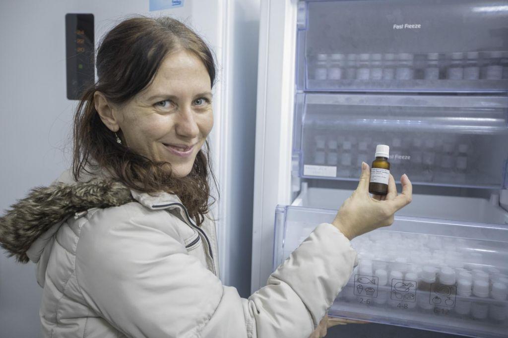 FOTO:V semenski banki že več kot 20 odstotkov slovenske flore (FOTO)