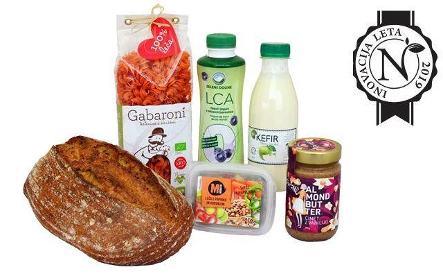 Izbor najbolj inovativnih živil, ki so prišla na trg v zadnjem letu.FOTO: Inštitut za nutricionistiko