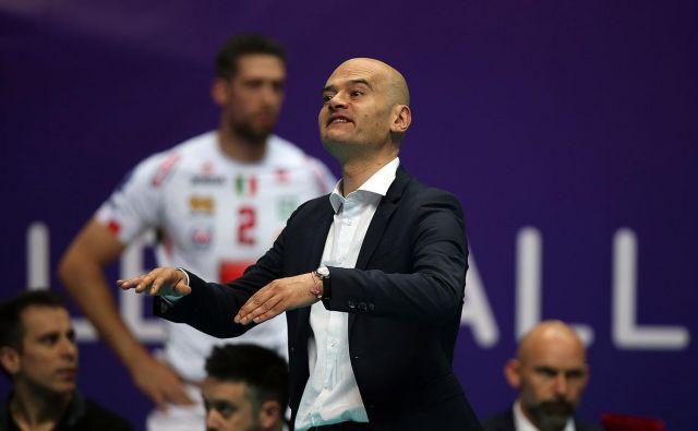 Giampaolo Medei ima odlične trenerske reference, selektorskih še ne. FOTO: Roman Kručinin/CEV