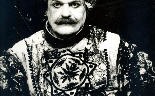 Janez Bermež bo nocoj poleg številnih priznanj in nagrad, ki jih že ima, med drugim tudi Borštnikov prstan, dobil še priznanje celjske zvezde za življenjsko delo. FOTO: Damjan Švarc/arhiv ZAC