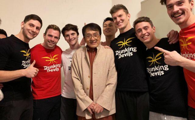 Jackie Chan in Dunking Devils FOTO: Dunking Devils