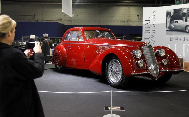 Alfa Romeo 8C 2900B Touring Berlinetta iz leta 1939. Foto Charles Platiau Reuters