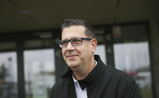 Aleš Bržan je pričakoval, da bo pritožba Borisa Popoviča na upravnem sodišču zavrnjena. Foto Jože Suhadolnik