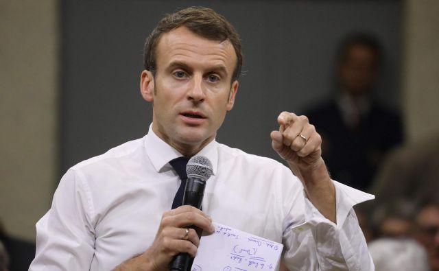 Emmanuel Macron Foto Ludovic Marin Afp