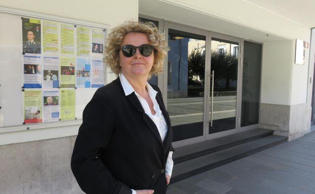 Katja Pegan, direktorica Gledališča Koper FOTO Nataša Čepar