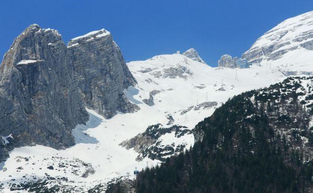 Posodobitev gorskega centra Kanin je v celoti odvisna od uspešnosti črpanja evropskega in državnega denarja. Sosedje v Furlaniji trdijo, da so za svoj del že rezervirali 25 milijonov evrov. Foto Blaž Močnik