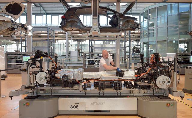 Kakor kaže, si bo nemška avtomobilska industrija težko opomogla. Foto Reuters