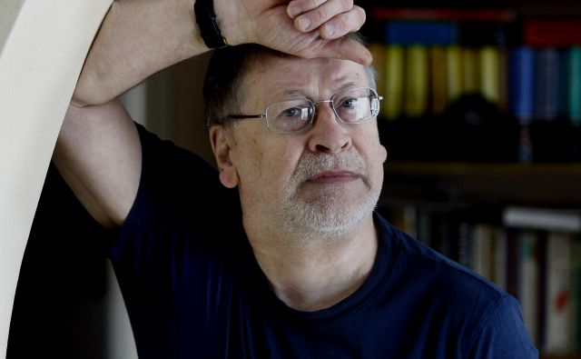 Filip Robar Dorin, filmski režiser, dobitnik Prešernove nagrade. FOTO: Aleš Černivec/Delo