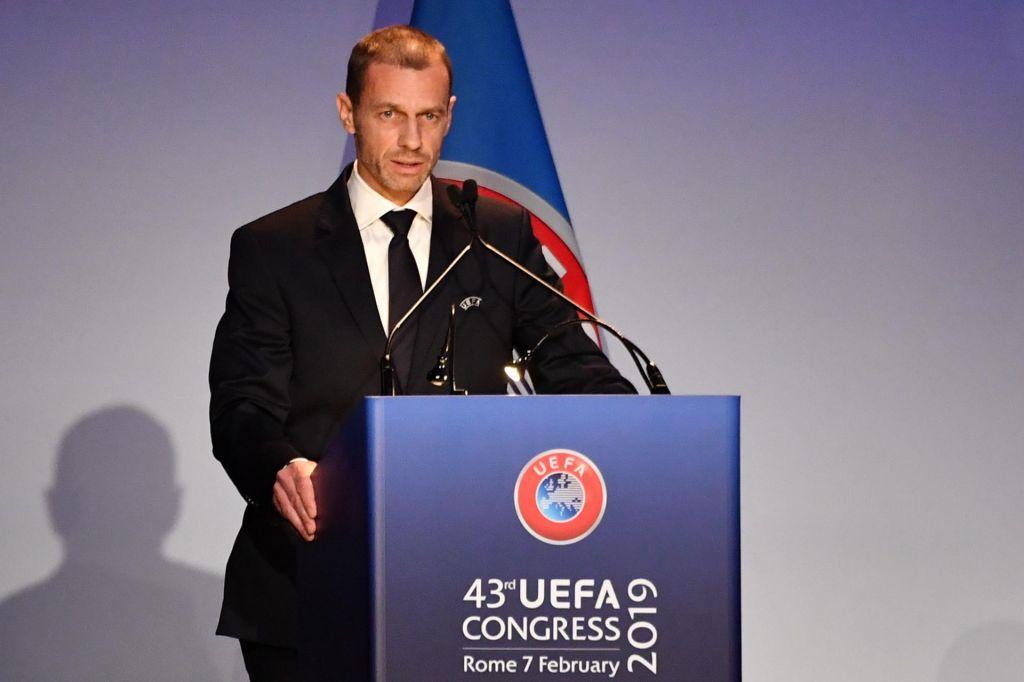 FOTO:Aleksander Čeferin dobil svoj prvi štiriletni mandat predsednika Uefe