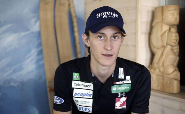 Peter Prevc se ni prebil na tekmo v Lahtiju, čeprav je v kvalifikacijah izpadlo le sedem skakalcev. FOTO: Blaž Samec/Delo