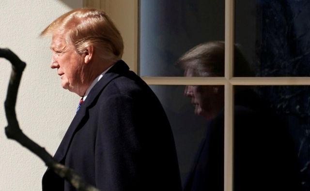 Po zagotovilih zdravnikov je Donald Trump zelo dobrega zdravja. FOTO: Yuri Gripas/Reuters