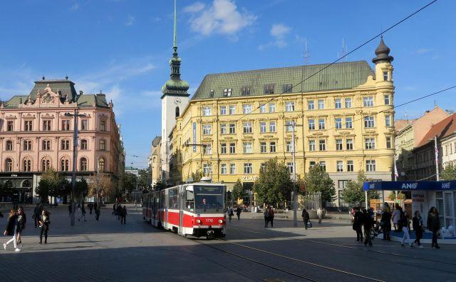 Drugo največje mesto Češke Foto Manca Čujež