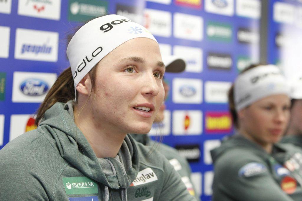 Eva Urevc v kvalifikacijah hitra kot blisk
