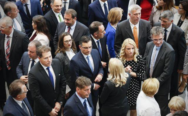 Tako iz ustavne obtožbe kot iz afere Prešiček je Šarec izšel kot izrazit zmagovalec, menijo analitiki. FOTO: Uroš Hočevar/Delo