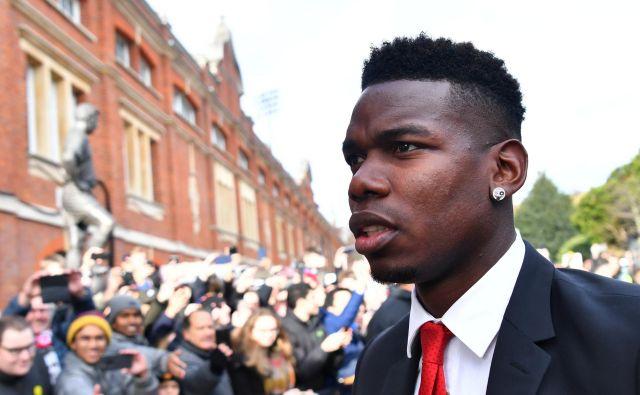 Paul Pogba je zaživel po odhodu Joseja Mourinha, v majici Manchester Uniteda je odtlej zabil že osem golov. FOTO: Reuters