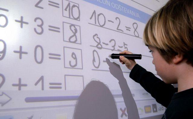 Delež učencev in dijakov s posebnimi potrebami se je v zadnjih štirih letih zvišal za dobrega pol odstotka. FOTO: Blaž Samec/Delo
