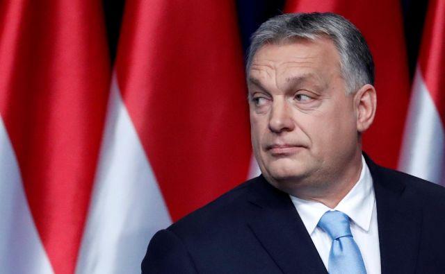 Madžarska se po besedah Viktorja Orbána pri reševanju problema natalitete ne bo ravnala po Zahodu. FOTO: Reuters
