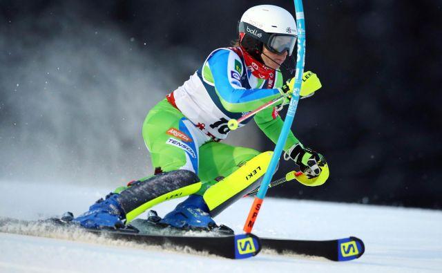 Na ekipni tekmi bo slovenske barve zastopala tudi Maruša Ferk. FOTO: Denis Balibouse/Reuters