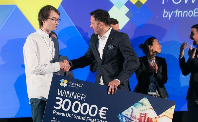 Lani je zmagalo estonsko podjetje Zubax Robotics. FOTO: InnoEnergy