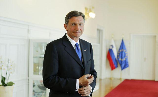 Pahor je poudaril, da se bo, kot pred drugimi volitvami doslej, vzdržal ravnanj, ki bi jih lahko razumeli kot strankarsko pristranska. FOTO: Leon Vidic/Delo