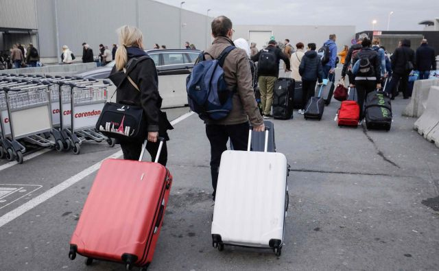 Stavka bo prizadela okoli 16.000 potnikov. FOTO: Thierry Roge/AFP