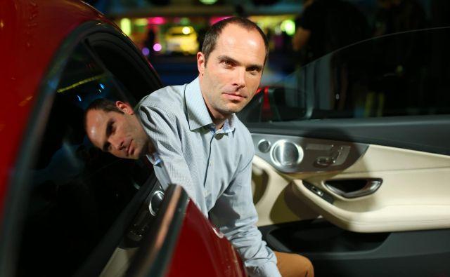 Robert Lešnik, vodja zunanjega oblikovanja pri znamki Mercedes-Benz<br /> Foto Uroš Hočevar