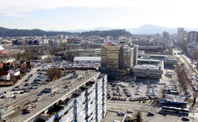 Okolico Gospodarskega razstavišča čakajo velike urbanistične spremembe, med drugim bo zrasel še en hotel. Foto Roman Šipić