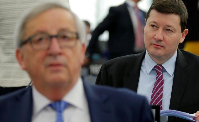 Martin Selmayr je bil pred imenovanjem na položaj generalnega sekretarja evropske komisije šef Junckerjevega kabineta. FOTO: Vincent Kessler/Reuters