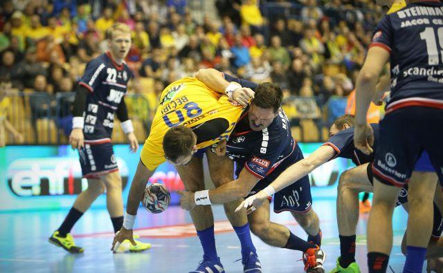 Kristian Bećiri se je izkazal na črti in dosegel tri gole. FOTO: Jure Eržen