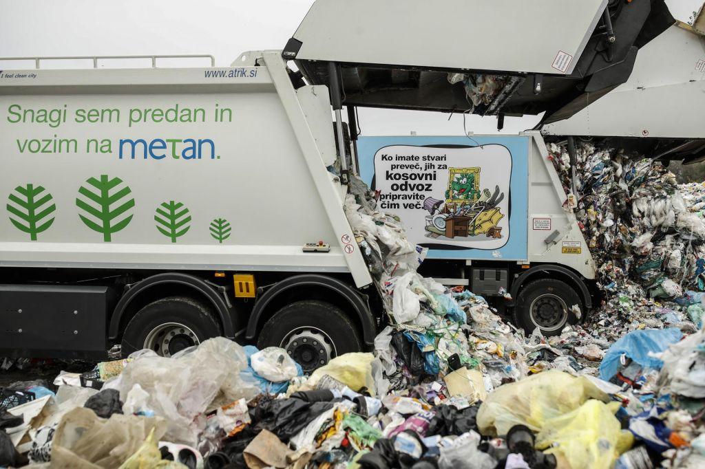FOTO:Najprej je treba vedeti, koliko odpadkov sploh imamo
