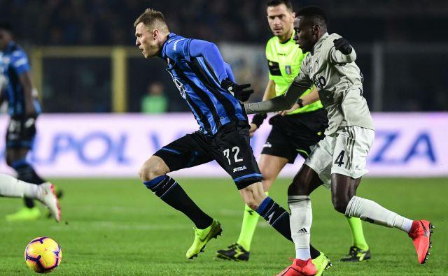 Josip Iličić bo igral danes zvečer najmočnejšo tekmo med vsemi slovenskimi legionarji. Atalanta bo gostila lokalni derbi z Milanom. FOTO: AFP