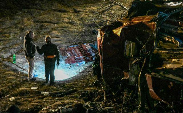 Nesreča se je zgodila včeraj okrog 17. ure. FOTO: AFP