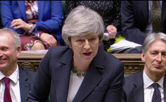 Avtoriteta britanske premierke je po glasovanju še nekoliko bolj načeta. FOTO: Reuters