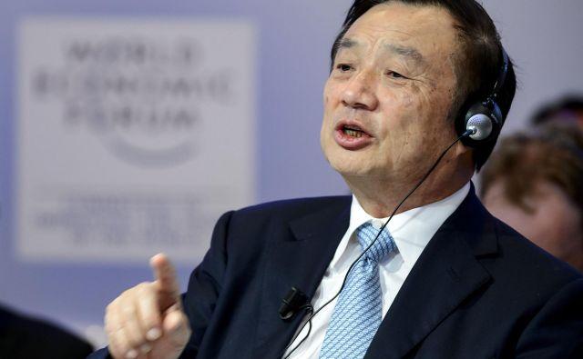 »Amerika nas ne more uničiti,« je dejal Ren Zhengfei pred nekaj dnevi. Mislil je na Huawei. Lahko pa bi mislil tudi na celotno Kitajsko. FOTO: AFP