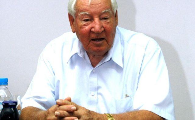 Joe Sutter, oče boeinga 747, je imel slovenske korenine. Foto Pres Release