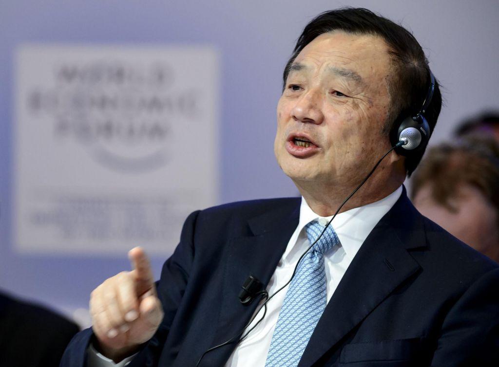 Ren Zhengfei, vrhovni poveljnik tehnoloških sil