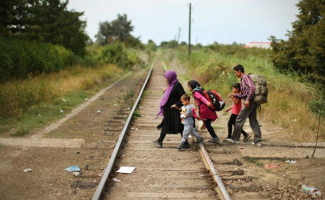 Nevladne organizacije, Zdravniki brez meja - MSF in drugi jim pomagajo kolikor zmorejo. FOTO: Jure Eržen/Delo