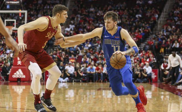 Luka Dončić si srčno želi igrati na tekmi, na kateri bodo zbrani največji zvezdniki lige NBA. FOTO: USA Today